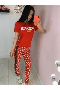 Костюм жен футболка+трико