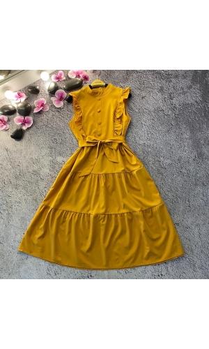 Платье без рукавов весна НК