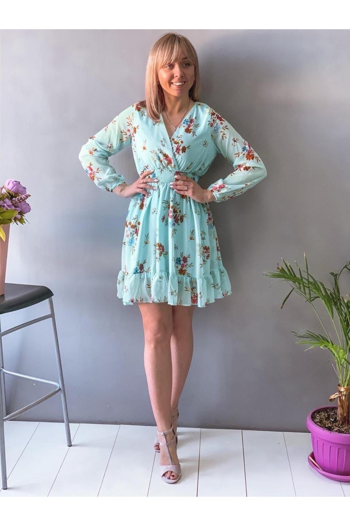 Платье люсовое весна НК