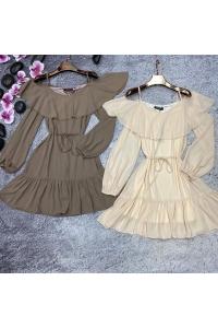 Платье с длинным рукавом НК