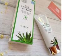 Солнцезащитный ББ крем с алоэ Jigott Aloe Sun Protect BB Cream SPF41/PA++, 50мл