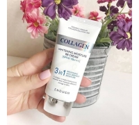 ВВ-крем с морским коллагеном Enough Collagen 3 in 1 Whitening Moisture BB Cream SPF 47 PA +++ , 50 гр.
