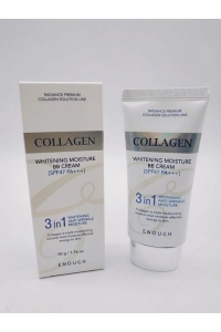 ВВ-крем с морским коллагеном Enough Collagen 3 in 1 Whitening Moisture BB Cream SPF 47 PA +++ , 50 гр.