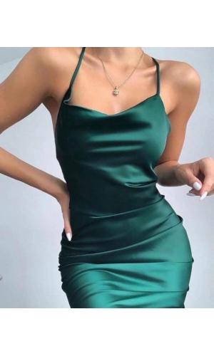 Платье летнее ткань атлас