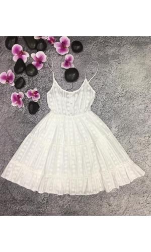 Платье летнее легкое весеннее хлопковое