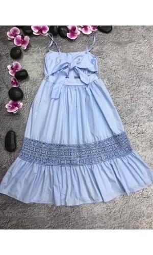 Платье летнее на брителях воздушное