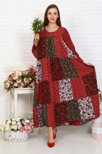 Платье из лоскутов индивидальный пошив
