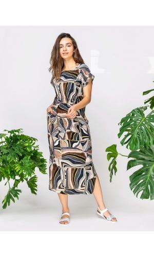 Платье летнее штапель
