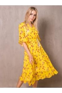 Платье из нежного шифона