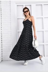 Платье из выбитого хлопка