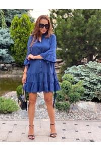 Платье с нежным гипюром