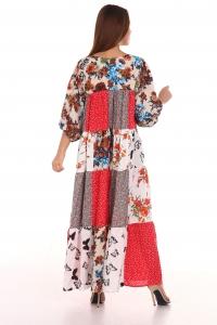Платье из лоскутов