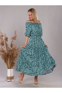 Платье из штапеля
