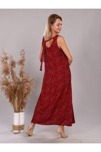 сарафан красный модель 2