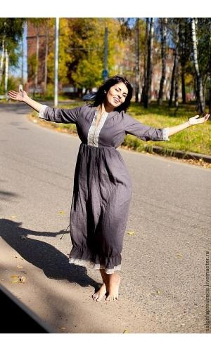 Платье льняное ПРАВАНС