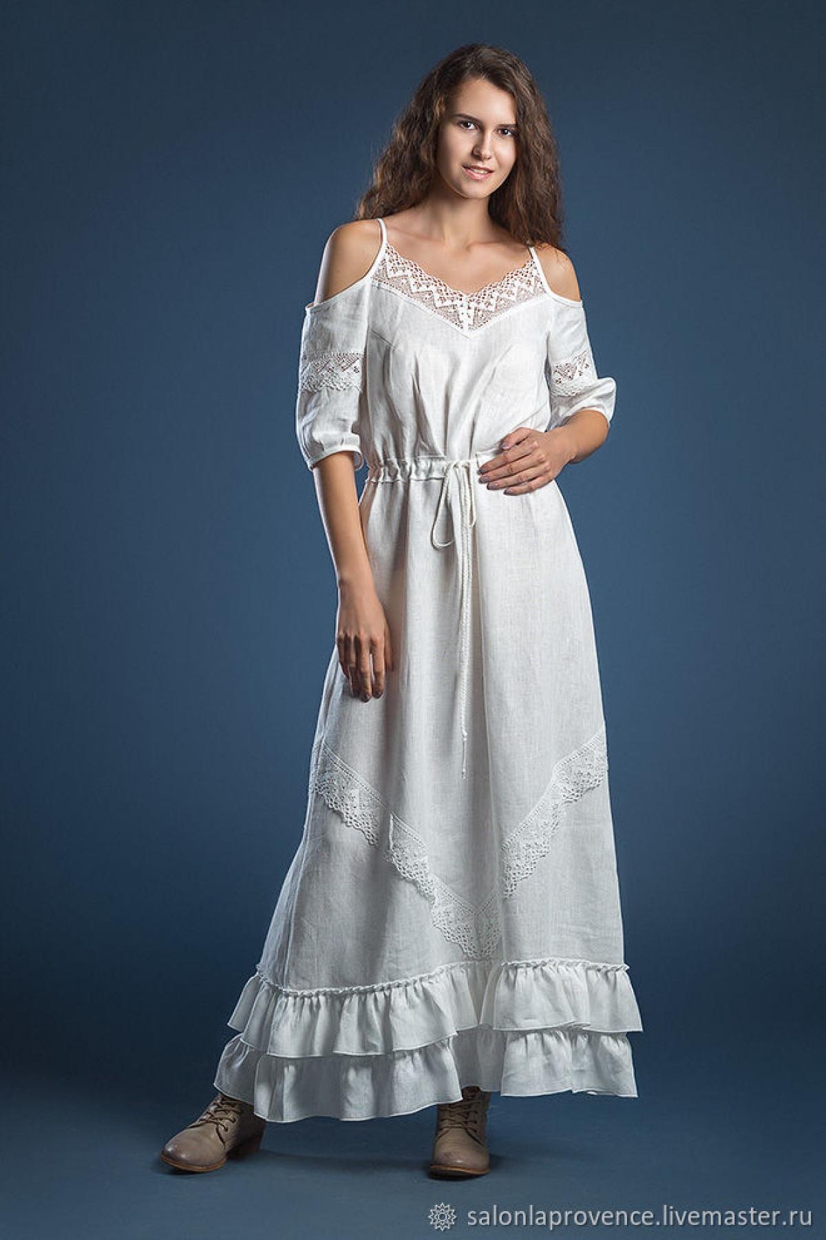 Платье льняное Сочи - suzdalshop