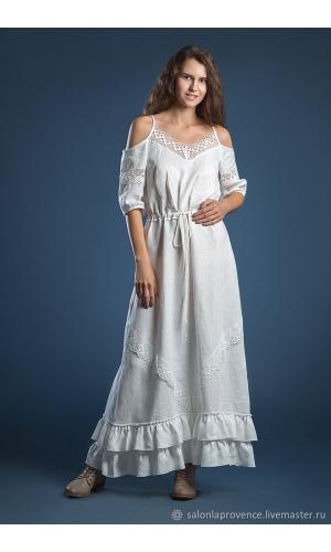 Платье льняное Сочи