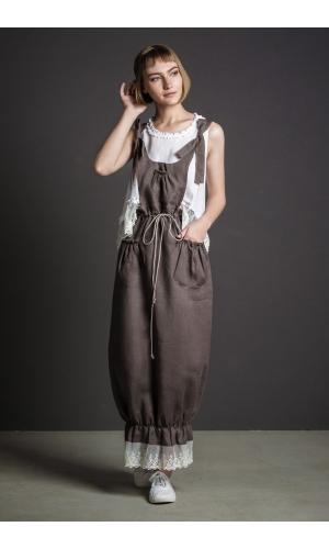 Комплект БОХО сарафан и блузка