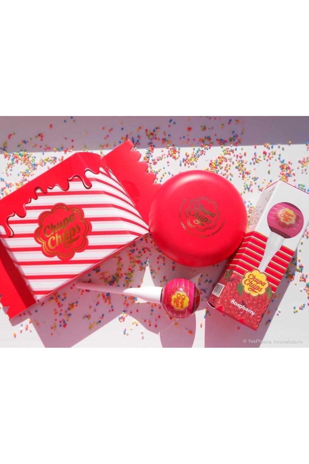 Тональная основа-кушон Chupa Chups Candy Glow Cushion Strawberry SPF50+ PA++++