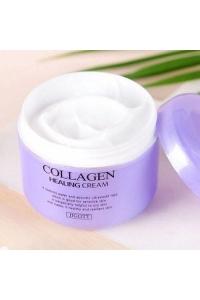 Питательный крем с коллагеном jigott collagen healing cream 100 мл