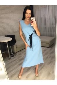 Платье летнее без рукавов