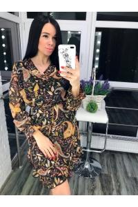Платье с огурцами