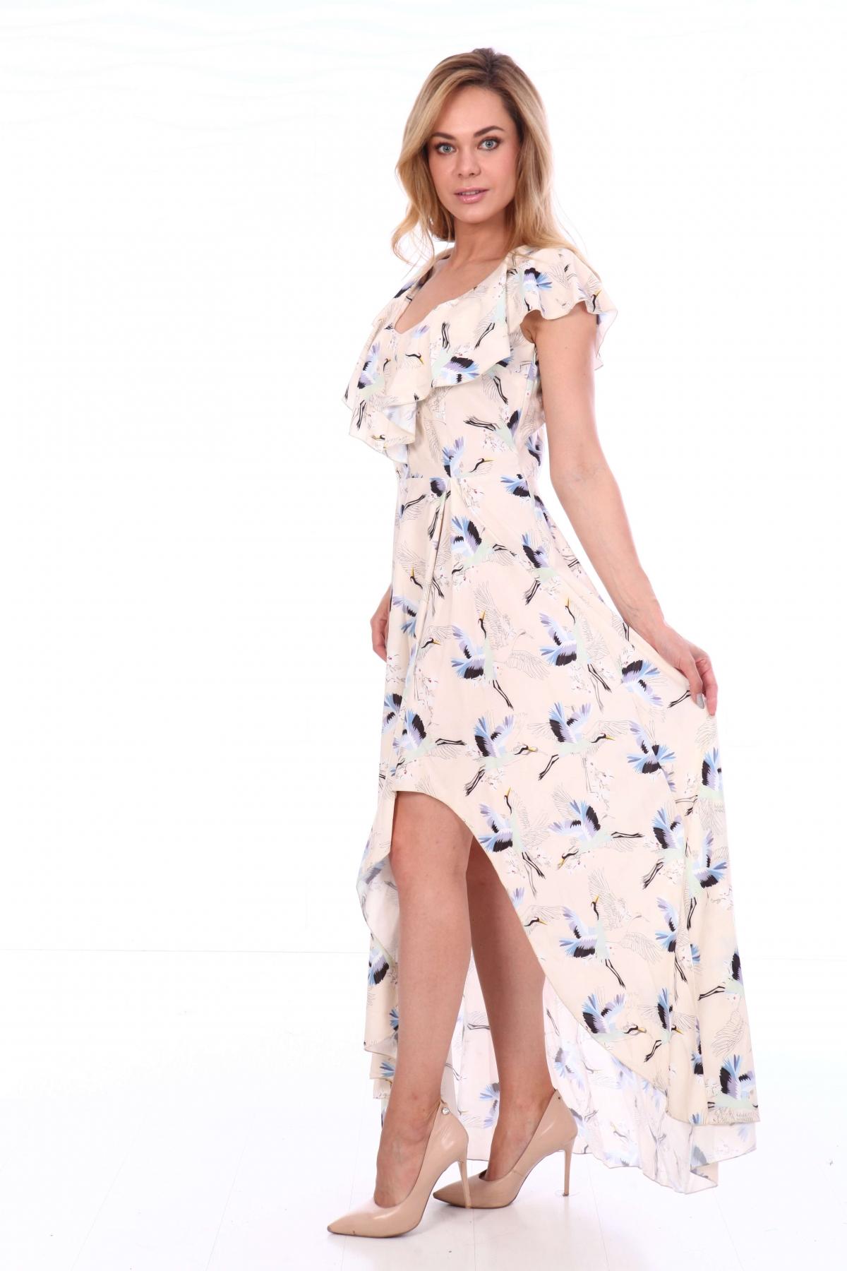 Платье с разрезом в пол